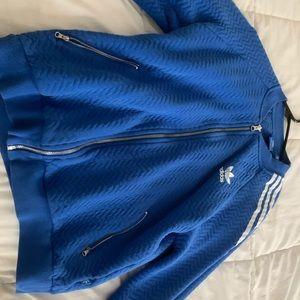Adidas Zip-up Blue Jacket